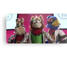 Star Fox Muppets Metal Print