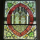 stained glass, Merchant Adventurers Hall, York by BronReid