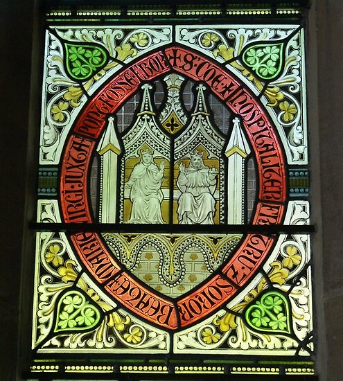 stained glass, Merchant Adventurers Hall, York by BronReid