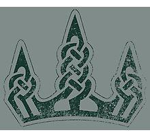 Skyrim Distressed Winterhold Logo Photographic Print