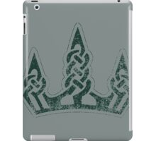 Skyrim Distressed Winterhold Logo iPad Case/Skin