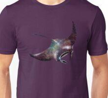 Galaxy Manta Ray Unisex T-Shirt