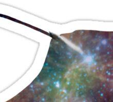 Galaxy Manta Ray Sticker