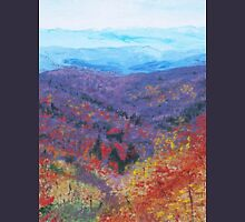 Autumn Valley Zipped Hoodie