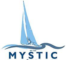 Mystic - Connecticut. by America Roadside.