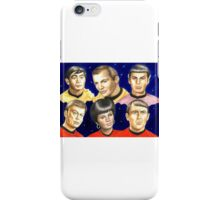To boldly go......Star Trek.....the originals iPhone Case/Skin