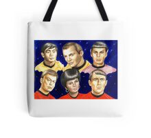 To boldly go......Star Trek.....the originals Tote Bag