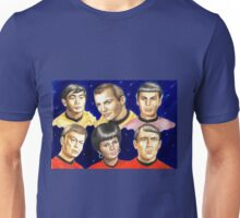 To boldly go......Star Trek.....the originals Unisex T-Shirt