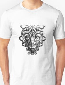 Renaissance Grotesque Face Lobster Man Unisex T-Shirt