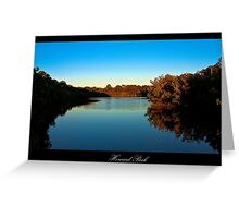 Howard Park - Tarpon Springs, Florida Greeting Card