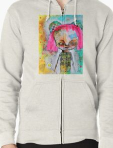 Happy Day Zipped Hoodie