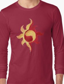 Sunset Shimmer Paintsplatter Long Sleeve T-Shirt