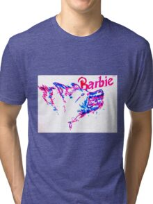 Barbie Pup Tri-blend T-Shirt