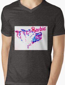 Barbie Pup Mens V-Neck T-Shirt
