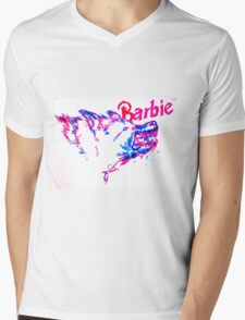 Barbie Pup Mens V-Neck T-Shirt