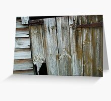 Allotment Shed Greeting Card