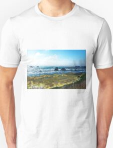 Coastline Bandon Oregon Unisex T-Shirt