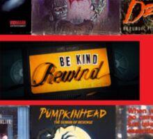 VHS Horror Admiration Sticker