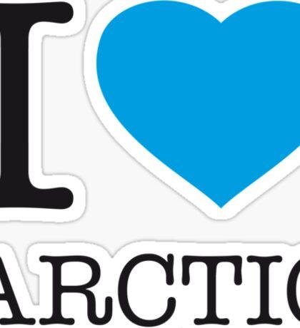 I ♥ ARCTIC Sticker