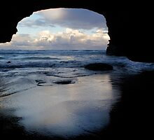 Cave Reflections by Karl Lindsay