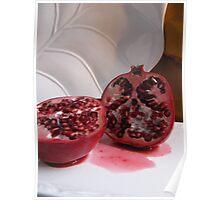 Pomegranate Slice Poster