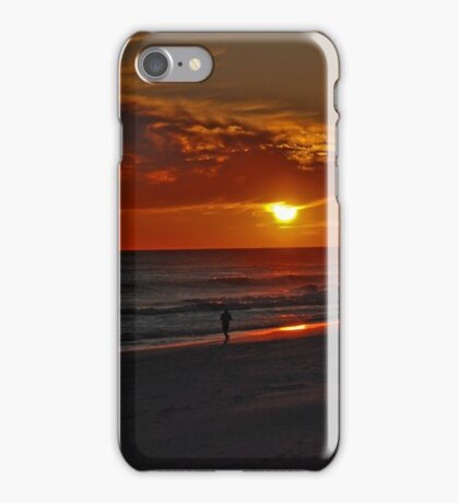 Sunset over the Gulf of Mexico iPhone Case/Skin