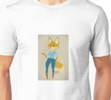 Who Gives a Fox? Unisex T-Shirt