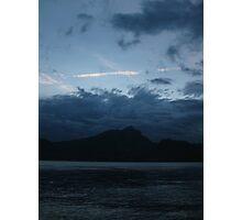 Blue Sunset Photographic Print