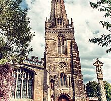 St Marys Church Higham Ferrers by Vicki Field