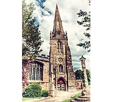 St Marys Church Higham Ferrers Photographic Print