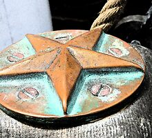 Antique Tall Ship Medallion by sunrisern