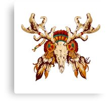 Vector tribal decorative totem  Canvas Print