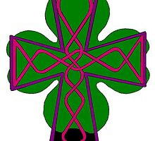 Celtic Cross Lorraine by redqueenself