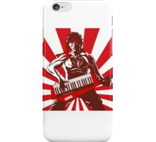 Keytar Rambo  iPhone Case/Skin