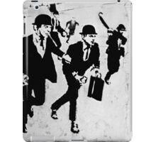 Chequebook Vandalism iPad Case/Skin