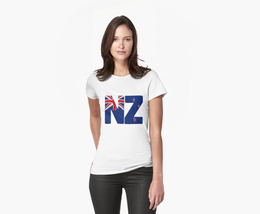 New Zealand flag by stuwdamdorp