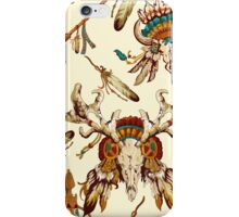 Vector seamless pattern with tribal elements iPhone Case/Skin