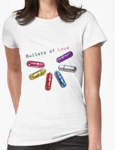 Bullets of Love Womens Fitted T-Shirt