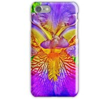 Flight of the Iris Bee, 2 of 4 iPhone Case/Skin