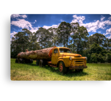 Those logging days are over Canvas Print
