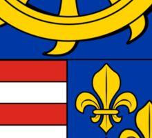 Slovakian coat of arms Sticker