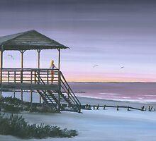 """Carpe Diem"" Folly beach SC USA by Matthew Campbell"