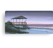 """Carpe Diem"" Folly beach SC USA Canvas Print"