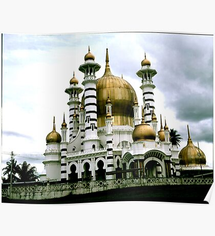 Full View. Ubidiah Mosque. Poster