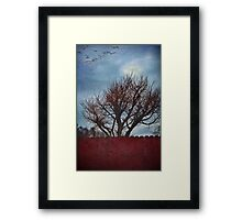 On My Way to You Framed Print