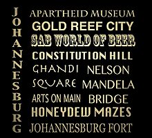 Johannesburg Famous Landmarks by Patricia Lintner