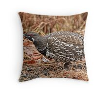Spruce Grouse - Algonquin Park, Ontario Throw Pillow