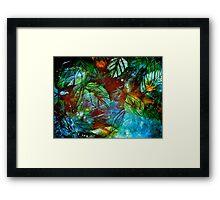 Abstract...Precious Framed Print