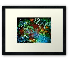 Abstract...Precious Framed Print