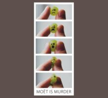 Moët is Murder (white border) by bitrot